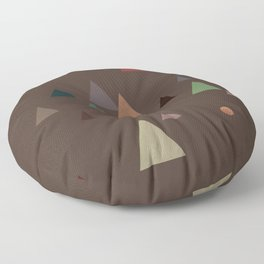 fall || in deep colors Floor Pillow