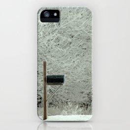 Frosty Iowa Morning iPhone Case