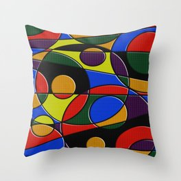 Abstract #223 Throw Pillow