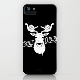 Stay Wavy iPhone Case