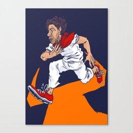 Bull Run Canvas Print