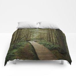 Temperate Rainforest Trail Comforters