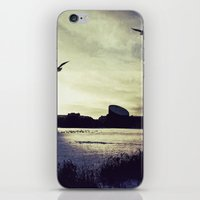 copenhagen iPhone & iPod Skins featuring COPENHAGEN WINTER by Martin Llado