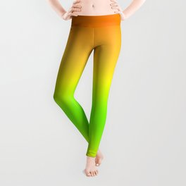 Summer Colors Gradient Leggings