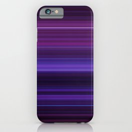 Abstract mixed stripes Purple Dark iPhone Case