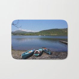 The Lake District - Boating on the Lake Bath Mat