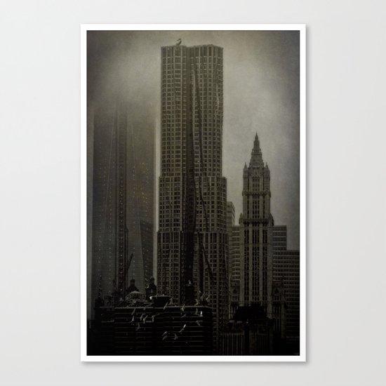 Concrete, Steel & Glass Canvas Print