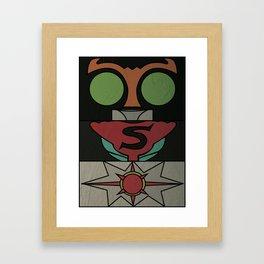 Kamen Rider Strong Framed Art Print