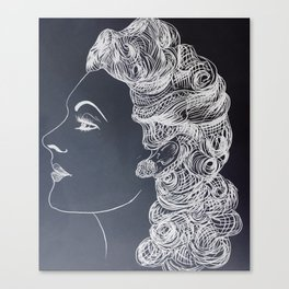 Introverted Veronica Canvas Print