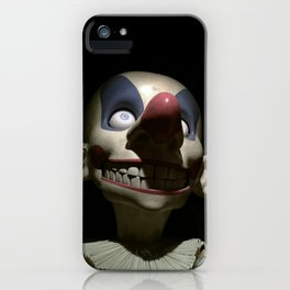 Clown (jack-in-the-box) iPhone Case