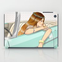 car iPad Cases featuring Car by Lotty