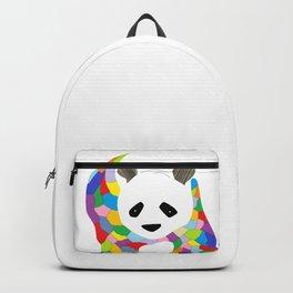 Patchwork Panda Backpack