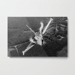 Vapour Metal Print