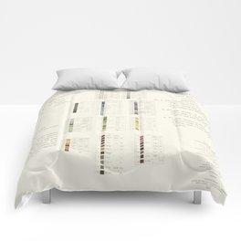 Werner's nomenclature of colour Comforters