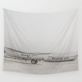 New Jersey Lifeboats Wall Tapestry