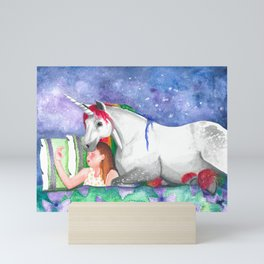 Unicorn Dream Mini Art Print
