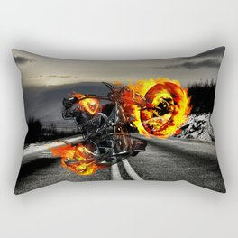 ghost rider Rectangular Pillow