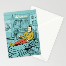 Movies we like - The Terminal Stationery Cards