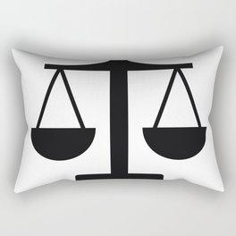 weight scale Rectangular Pillow