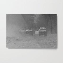 Smoke Haze Metal Print