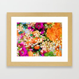POP-Sparkles Framed Art Print