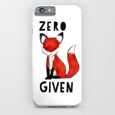 Zero Fox Given Slim Case iPhone 6s