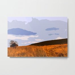 Ilkley Moor - Yorkshire, UK Metal Print