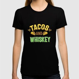 Tacos And Whiskey Gift T-shirt