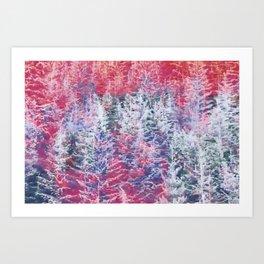 Skyride Art Print