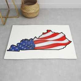 Patriotic Kentucky Rug