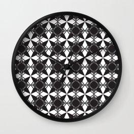 Minimal Motif Pattern 3 Wall Clock