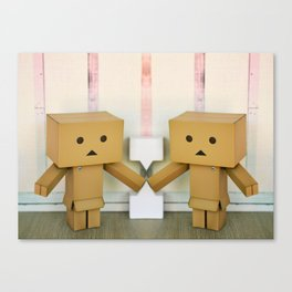 Danbo Take Two Canvas Print