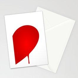 Half Heart Man Stationery Cards