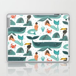Mermaid pattern Laptop & iPad Skin