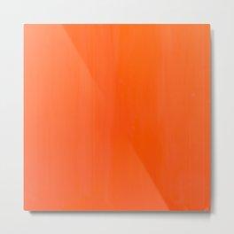 Orange/Coral Ombre Color #decor #society6 #buyart Metal Print