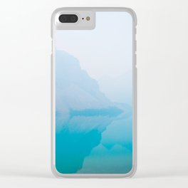 Morning at the Lake Clear iPhone Case