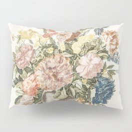 A vase with flowers by Johan Teyler (1648-1709) Pillow Sham