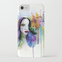 eternal sunshine iPhone & iPod Cases featuring Eternal sunshine by YOUMEECHO  ILLUSTRATION STUDIO