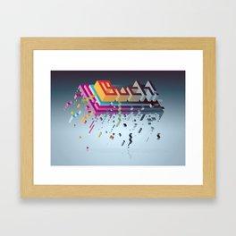 Ouch! Framed Art Print