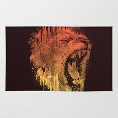FIERCE LION Rug