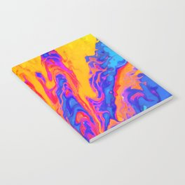 Over Active Brain Activity Fluid Abstract 60 Notebook