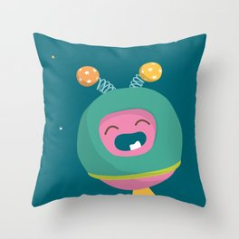 Letter O Throw Pillow