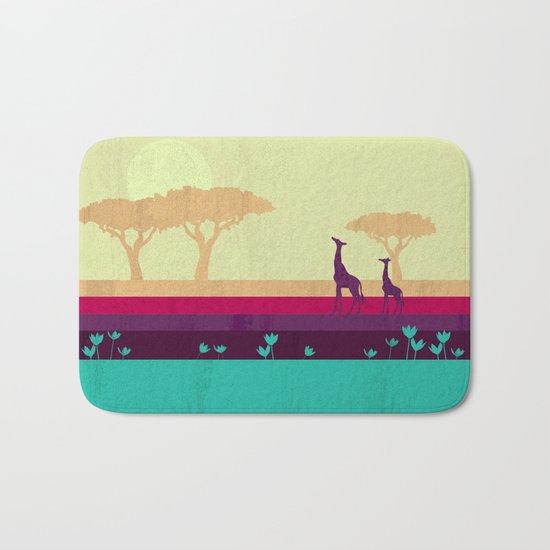 Safari Bath Mat