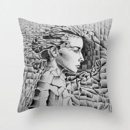 Materials Throw Pillow