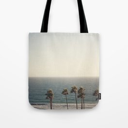 Golden Hour over Pacific Coast Highway Tote Bag