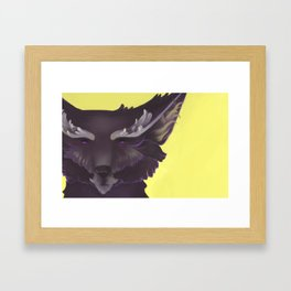 Wolf - Lord of Night Framed Art Print