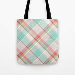 All in Plaid Tote Bag