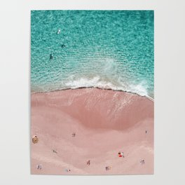 Pink Vacation Poster