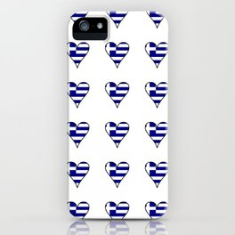 Flag of greece 3-Greek, Ελλάδα,hellas,hellenic, athens,sparte,aristotle. iPhone Case