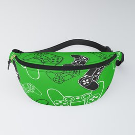 Video Games Green Fanny Pack